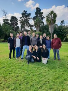 Yoav Shechtman's lab group picture