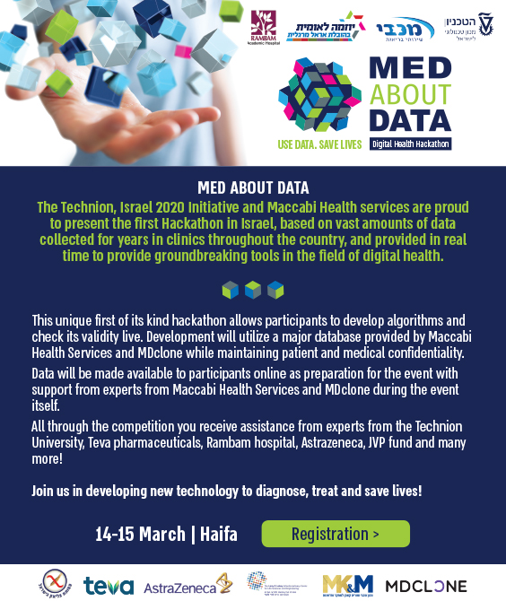 "Poster of Hackathon ""Med about Data"""
