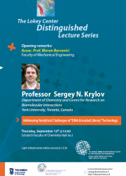 poster of Sergey Krilov lecture