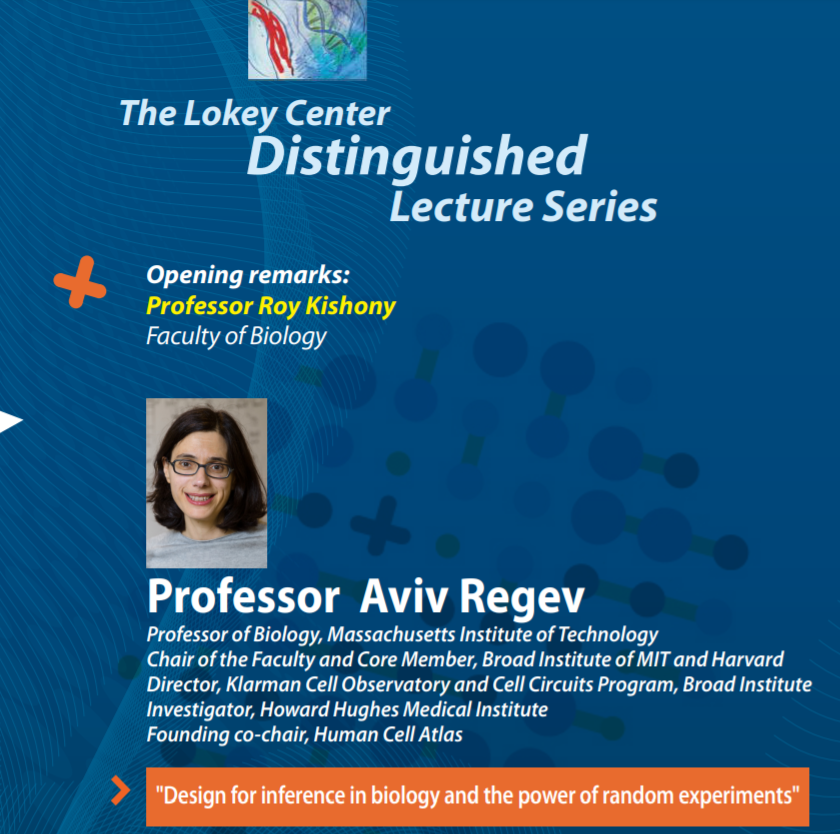poster of the lecture